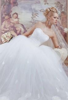 Принцесса На Горошине. Фотография свадебного платья.