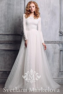 Свадьба. Фотография свадебного платья.